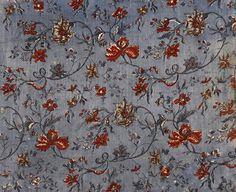 Les Tissus au XVIII° siècle   Bienvenue au XVIIIe