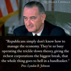 Republicans have been saying the same thing for decades. And it still doesn't work. Americans are beginning to wake up & see them for what they are. Now Let's Vote Them Out Instead of Waiting For Them to Die Off in Office! Political Views, Political Memes, We Are The World, Social Justice, Things To Think About, Presidents, Wisdom, Thoughts, Sayings