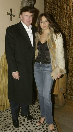 Melania Trump's style transformation is quite dramatic NEW YORK – FEBRUARY Donald Trump and Melania Knauss attend the T Management party at Pangea February 2003 in New York City. (Photo by David Surowiecki/Getty Images) via AOL Lifestyle Read more: Donald Trump Family, Donald And Melania Trump, First Lady Melania Trump, Melania Trump Young, New York February, February 13, Melania Knauss Trump, Ivanka Trump Style, Malania Trump