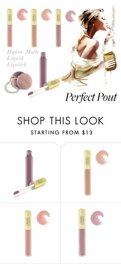 """Perfect Pout"" by molly2222 ❤ liked on Polyvore featuring beauty and mattelipstick"