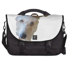 Scruffy Dog Laptop Bag