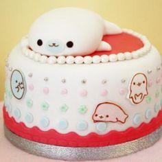 Mamegoma cake