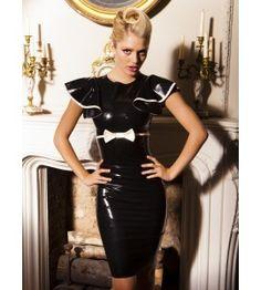 Mademoiselle latex jurk