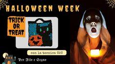 Speciale Halloween - Dolcetto o scherzetto? #halloween #halloween crochet #bag crochet #corner2corner #c2c #trick or treat #halloween cat #per filo e segno #pumpkin #video tutorial #video youtube #youtube #video ita