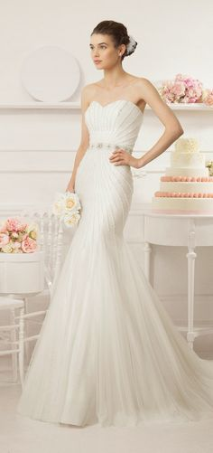 Aire Barcelona 2015 Bridal Collection |