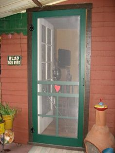 Awesome Vintage Screen Doors | Projects Here Abound Cross Off Add Antique Screen  Door Factor