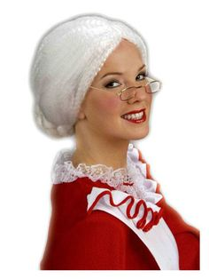 Check out Womens Miss Santa Wig - Costume Accessories for 2018 | Wholesale Halloween Costumes from Wholesale Halloween Costumes