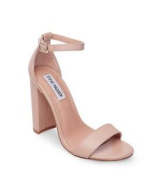 0e4821809d4 Steve Madden Carrson Heels - Blush Leather