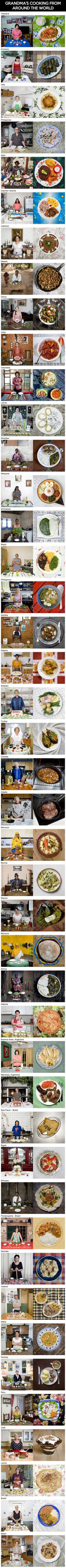 Grandmas' Cooking From Around The World (Gabriele Galimberti)