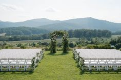 Summer Wedding at Pippin Hill Farm and Vineyards, Wedding Venue in Charlottesville, VA. Photography by Kylie Martin Photography. Event Planning and Design by Donovan Groves Events. Florals by Blue Ridge Floral Design. Purple Mountain Majesty, Blue Ridge Mountains, Charlottesville, Rustic Charm, Wine Country, Event Planning, Summer Wedding, Vineyard, Backdrops