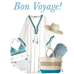 Bon Voyage! by calypsostbarth on Polyvore