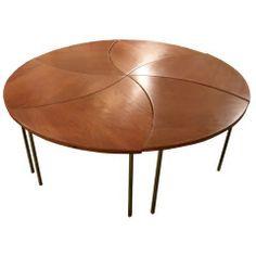 Pinwheel Cocktail Table by Peter Hvidt