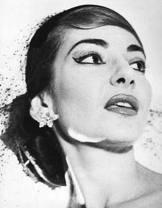 Portrait of Maria Callas by Horst P.Horst, 1956