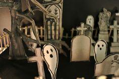 Le blog de Gabrielle Aznar: Le cimetière en papier ♦ DIY Papier Diy, Diy Paper, Cemetery, Cufflinks, Blog, Accessories, Blogging, Wedding Cufflinks, Jewelry Accessories
