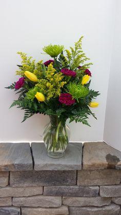 Check out this #beautiful #floral arrangement: Lemon Lime!