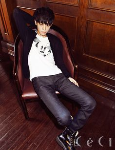 jung joonyoung for ceci magazine november issue 2013