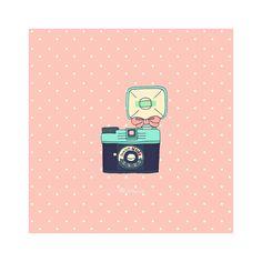 Diana mini print. $7.00, via Etsy.