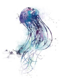 Jellyfish Print Watercolor Sea Life Decal Mural Fish Ocean Sea   #jellyfish #watercolor #abstract #blue #animals #nature #seacreature #sea #ocean  #mediterranean #sealife #decal #purple #tentacles #coastal #beach #mural #walldecor #fineart #nursery #jellies #nautical  #painting #illustration #watercolorjellyfish #watercoloranimal #jellyfishprint  #watercolorocean #digital #fish #wallart #marinelife #bluewaves #surf #watercolour #graphic #cool #unique  #tropical