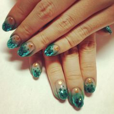 mermaid nail
