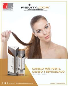 El estrés y los malos hábitos son los principales detonantes de la pérdida de #cabello. Potencializa la regeneración capilar con #RevitaCOR.