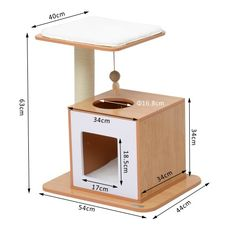 Diy Cat Tower, Cardboard Cat House, Cat Wall Furniture, Cat Gym, Cat House Diy, Cool Dog Houses, Cat Towers, Cat Playground, Cat Condo