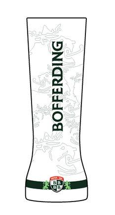 Création d'un verre #Bofferding Leiw par Christian, concours BArtist.