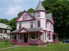 1000 Images About Little Pink Houses On Pinterest Pink