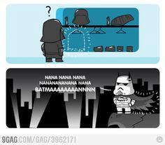Even in a galaxy far, far away, it's better to be Batman.