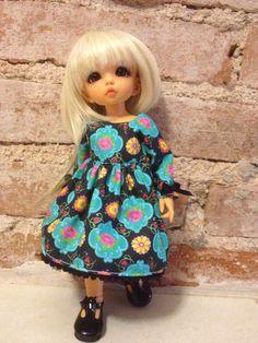 Nikki-new dress made by me!❤️ Litllefee Ante ❤️ Madame Michalska for dolls-Brazil