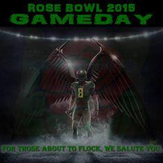 ROSE BOWL 2015 GAME DAY GO DUCKS!