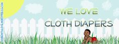 Free Facebook Cover Photos:  We Love Cloth Diapers