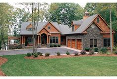 Craftsman House Plans Lake Homes View Plans Lake House, house plans for craftsman style homes . Craftsman Style House Plans, Cottage House Plans, Cottage Homes, Craftsman Homes, Craftsman Exterior, Craftsman Ranch, Cottage Exterior, Rustic House Plans, Modern Craftsman