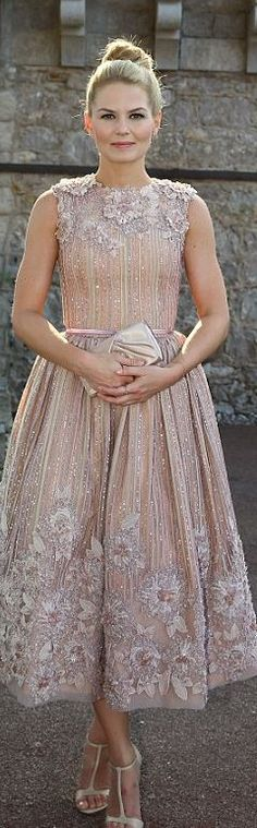 Georges Hobeika || Jennifer Morrison's pink gown that she wore in Monte Carlo