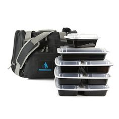 Our Large Motivational Meal Prep Bag® allows you to travel effortlessly with space for your meals, water, snacks and supplements. A must for every fitness enthusiast's and pairs perfectly with our Motivational Gym Bag® Check out the amazing features. Our large size is can hold all the meal prep containers you see photographed. It is...  Read more »