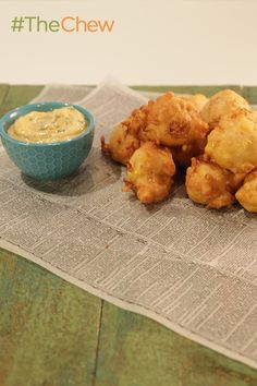 Make Crab and Corn Fritters just like the BAM man himself, Emeril!