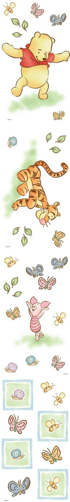 Pooh wall decals