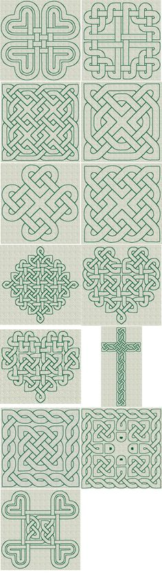 Celtic Knotwork RW Series 01 [Series 01] - $15.00 : The Country Needle Embroidery Designs®, Offers high quality, manually punched machine embroidery designs at affordable prices. Instant downloads available. Where quality designs and customer service are the priority! Join The Country Needle Embroidery Barn, our embroidery club for even more savings!