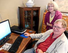 Society volunteer digitizes records to aid in genealogical searches #genealogy #familyhistory