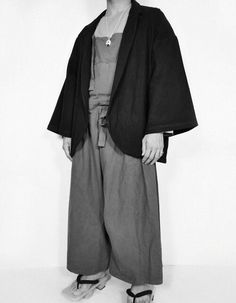 Rocker Chic, Fashion Lookbook, Japanese Fashion, Herringbone, Kimono, Normcore, Mens Fashion, Blazer, Cotton