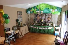 Asher's Wild Rumpus | CatchMyParty.com