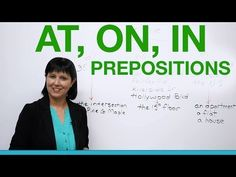 ▶ English Grammar - Prepositions to say where you live: AT, ON, IN - YouTube