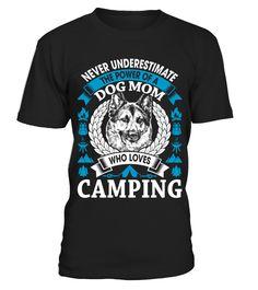 Camping Dog Mom
