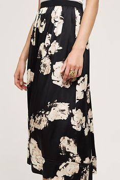 Lake City Silk Skirt - anthropologie.com