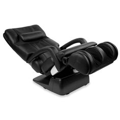 The Human Touch Massage Chair.  This massage chair's two-pronged rollers replicate a masseur's index finger and thumb as they grasp, kneading your neck, shoulders, and back for the most faithful robotic recreation of actual human hands. The rollers automatically reposition to accommodate users of all sizes, contouring to your back to target acupressure points, ensuring the most precise and effective mechanical massage available.
