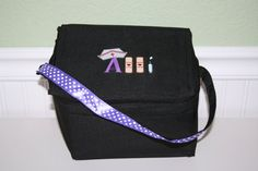 PERSONALIZED  Lunchbox Designed by You Available by EmbroideryMark   See our full line of lunchboxes at www.embroiderymark.etsy.com