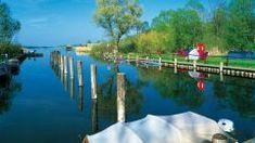 Wasserwanderrastplatz in Wesenberg, Mecklenburgische Seenplatte Outdoor Decor, Canoe, Campsite, Hiking