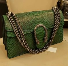 Gucci Python Leather Handbag