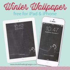 Winter iPhone & iPad Wallpaper