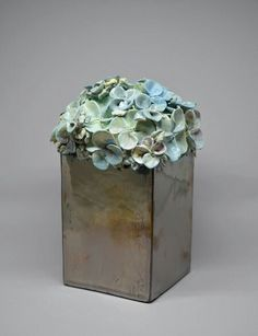 Hydrangea https://www.etsy.com/shop/nylaahn www.heatherahn.com #ceramic #hydrangea