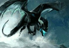 Blue thunder dragon by allagar on deviant art.